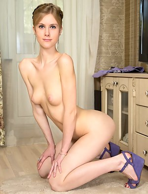 Teen on Knees Porn Pictures
